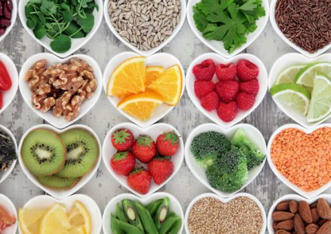 Food for good skin and hair
